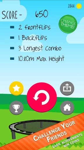 Stickman Trampoline FREE Backflip Jump Flip Master modavailable screenshots 15