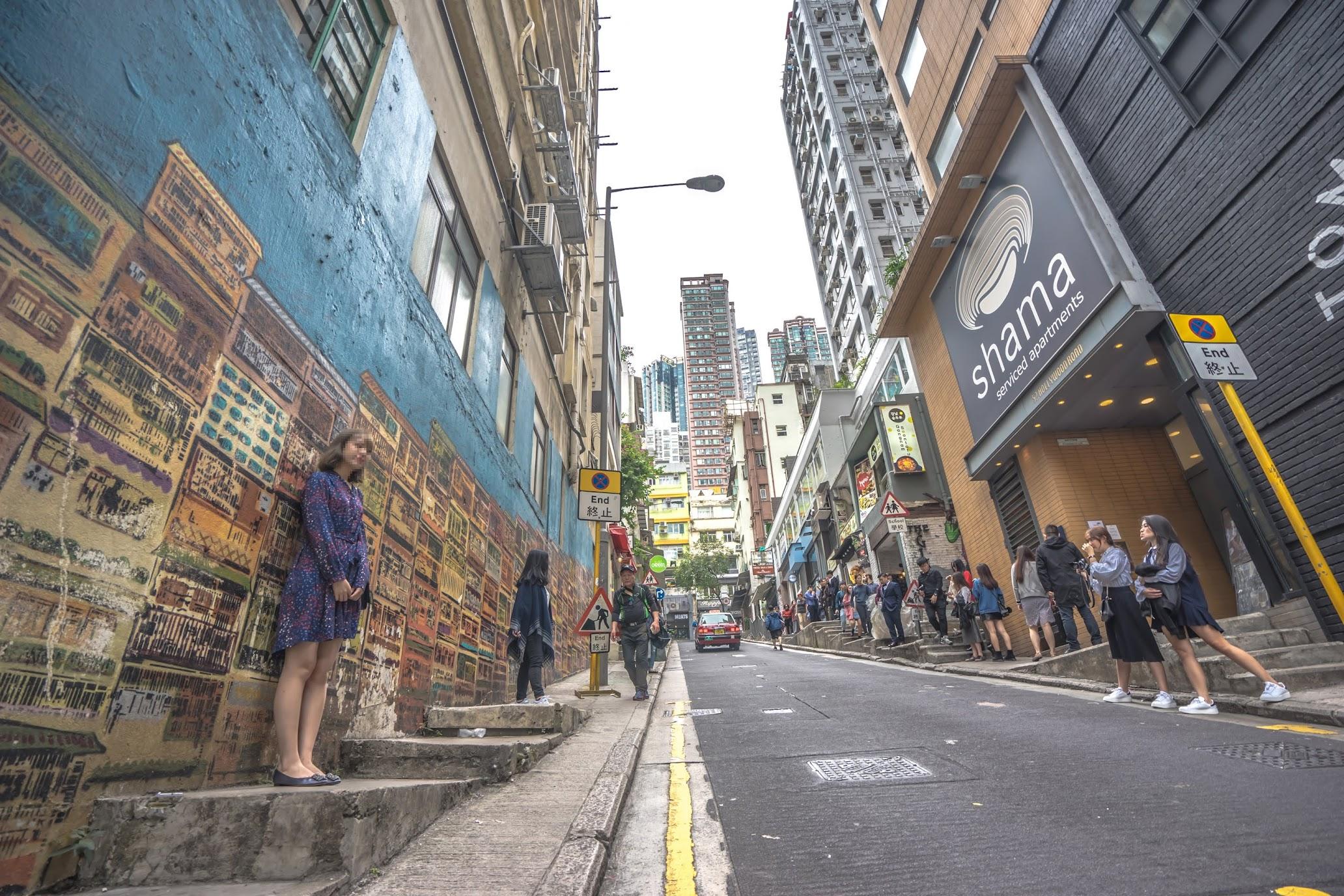 香港 ウォールアート5