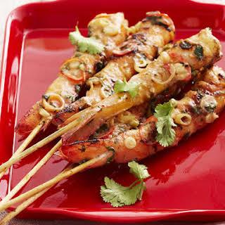 Prawn Kebabs.