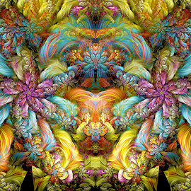 Bipolar Spherical by Peggi Wolfe - Illustration Abstract & Patterns ( digital, fractal, abstract )
