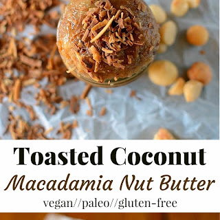 Toasted Coconut Macadamia Nut Butter