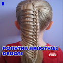 Ponytail Hairstyle Designs icon