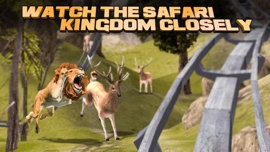 Safari Roller Coaster Ride VR - náhled