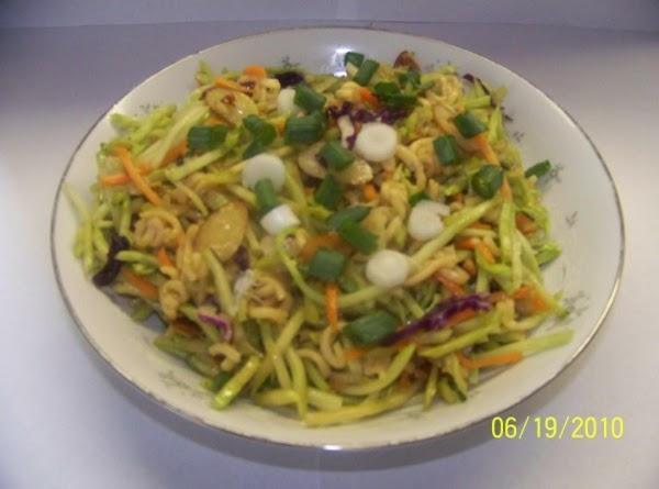 Oriental Broccoli Slaw Recipe