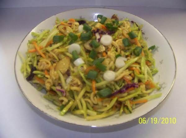 Oriental Broccoli Slaw Recipe
