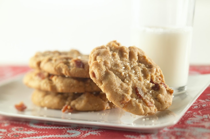 Bacon and Peanut Butter Cookies
