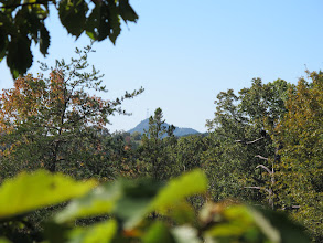 Photo: In the fall, you can see Currahee Mountain very clearly.