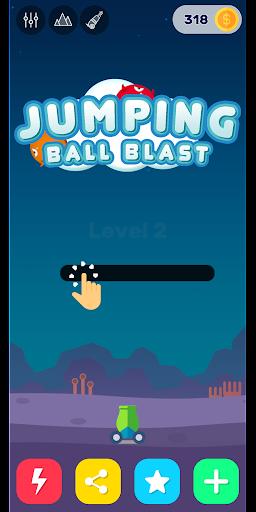Télécharger Jumping Ball Blast - Fire Balls Shooter 2020 apk mod screenshots 1
