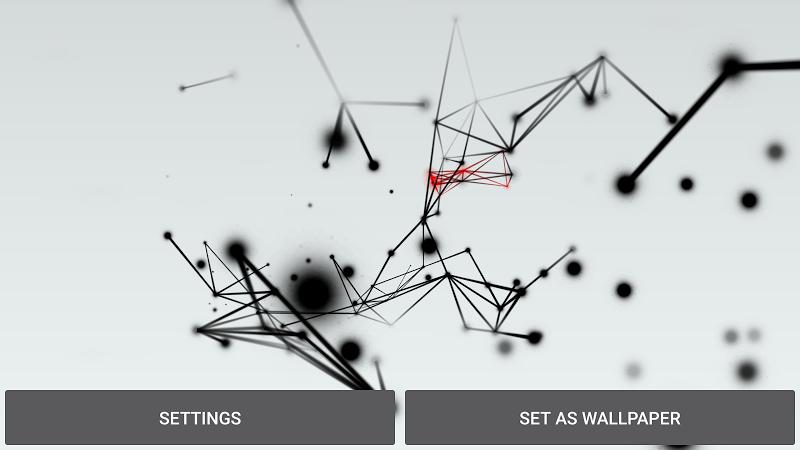 Abstract Particles Wallpaper Screenshot 16