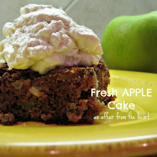 Apple Cake With Fresh Apples Recipes