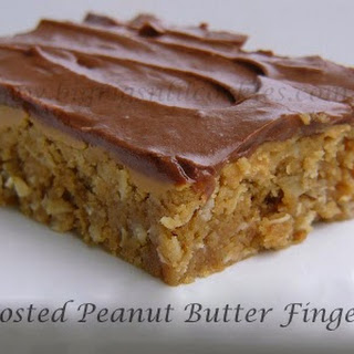Frosted Peanut Butter Fingers