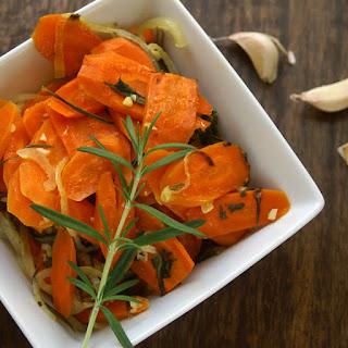 Roasted Carrots with Rosemary & Garlic
