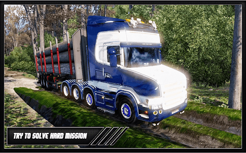 Rough Truck: Euro Cargo Delivery Transport Game 3D - náhled