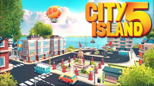 City Island 5 - Simul. de construction hors ligne astuce APK MOD capture d'écran 1