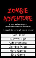 Screenshot of Zombie Adventure Free