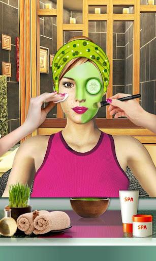 Beauty Spa Salon 3D, Make Up & Hair Cutting Games 1.2 screenshots 1