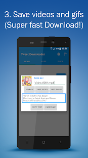 Tweet Video & Gif Downloader - náhled
