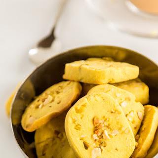 Eggless Kaju Pista Cookies (Cashew Pistachio Cookies)