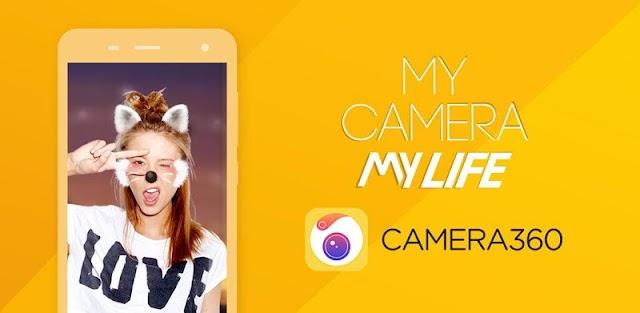 Camera360 v9.7.6 VIP - Selfie Photo Editor With Funny Sticker Mod APK