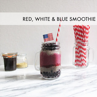 Red, White & Blue Smoothie