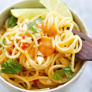 Thai Sweet Chili Peanut Noodles.