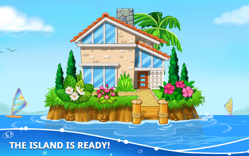 Build an Island. Kids Games for Boys. Build House screenshots 5