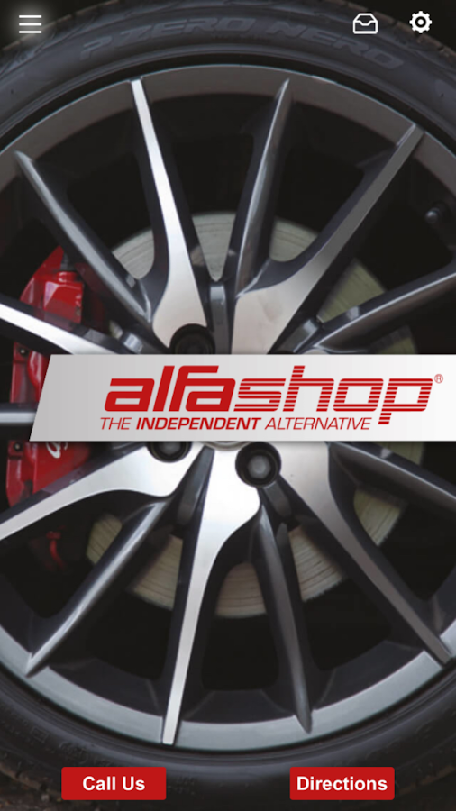 Alfa Shop- screenshot