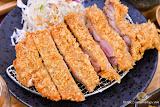 八谷 輕定食 豬排 咖哩