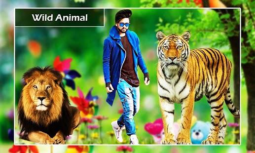 Wild Animal Photo Editor - Animal Photo Frames New Screenshot