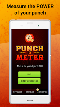Punch Meter - Boxing Game apk screenshot