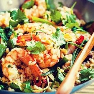 Prawn and Egg Fried Rice Recipe
