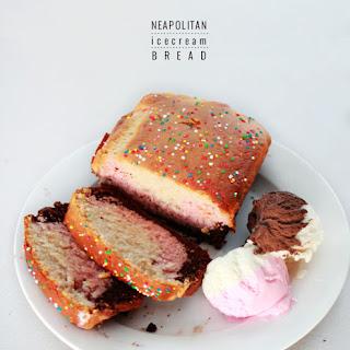 Ice cream bread [Pt 2] – neopolitan