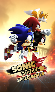 Sonic Forces: Speed Battle 0.0.2 Apk (Unlocked All Characters) MOD 1