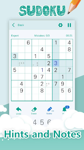 Sudoku Classic - Number Puzzle Brain Games 1.1.6 screenshots 4