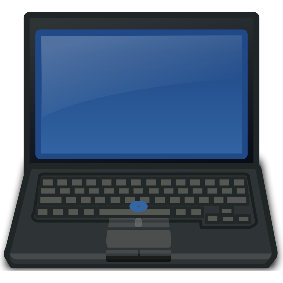 a laptop computer : Free