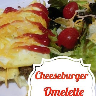 Cheeseburger Omelette