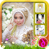 Hijab Wedding Photo Maker
