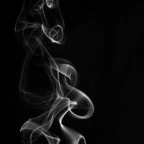 Smoke. by Denis Klicic - Abstract Fine Art ( abstract, sculpture, dark, smoke )