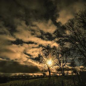by Elaine Delworth - Landscapes Sunsets & Sunrises