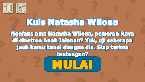 Kuis Natasha Wilona