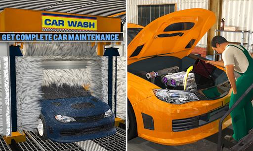 Smart Car Wash Service: Gas Station Car Paint Shop android2mod screenshots 1