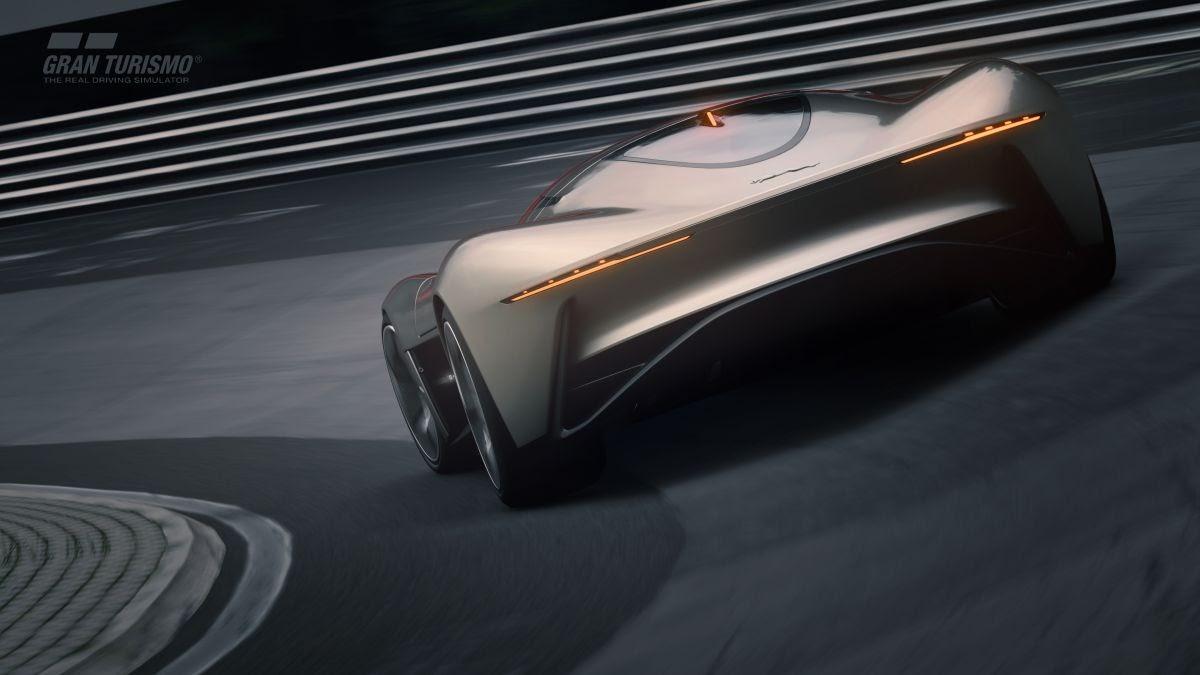 Jaguar Vision Gran Turismo Coupe [w/Video]