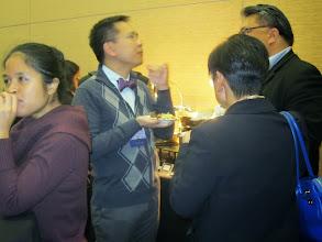 Photo: APIC Social: Kathy Ko Chin, APIAHF & Jeff Caballero, AAPCHO