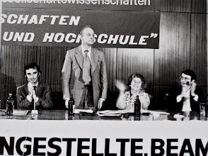 Photo: Reinhard Kühnl; Heinz Oskar Vetter; Käte Dinnebier; Frank Deppe
