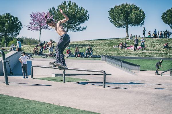Una domenica allo Skatepark di utente cancellato