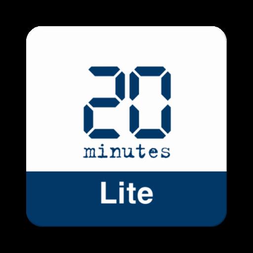 20 Minutes Lite - Actualités en continu Icon