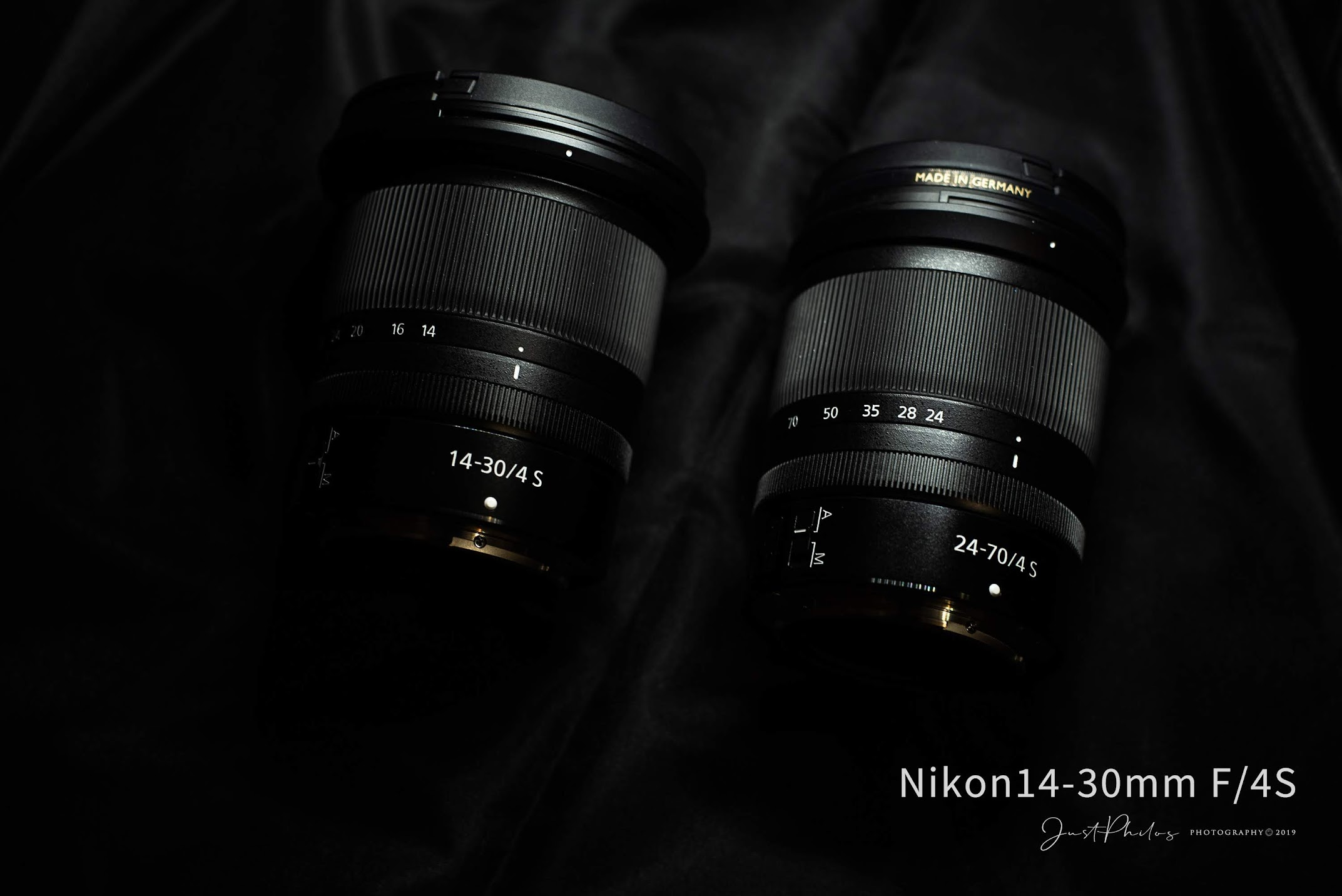 Nikon Z 14-30mm F/4S的鏡身長度幾乎與Nikon Z 24-70mm F/4S相同,兩顆都是很推薦的Z鏡頭。