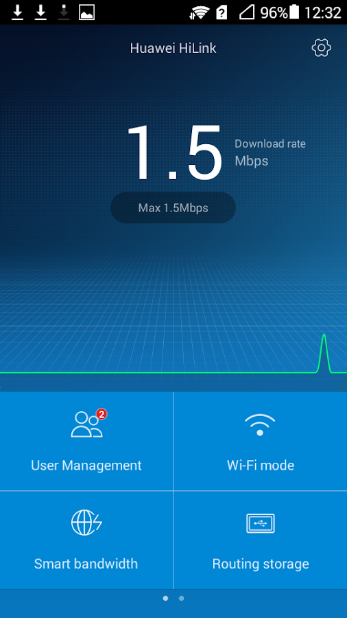 Huawei HiLink (Mobile WiFi) - screenshot