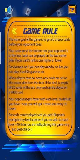 Speed Card Game (Spit Slam)  screenshots 5