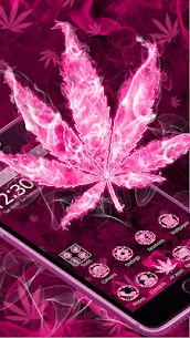 Pink Smoky Fire Rasta Weed Themes HD Wallpapers 1.0 Android Mod + APK + Data 2